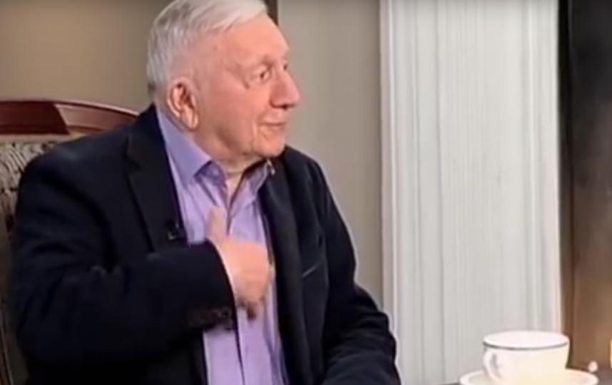 Георгий Штиль, кадры из передачи. Фото Все - скриншот YouTube