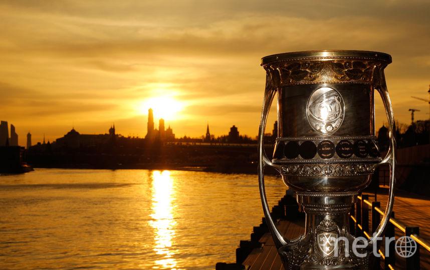 В понедельник 16 команд Континентальной хоккейной лиги начали борьбу в плей-офф. Фото photo.khl.ru