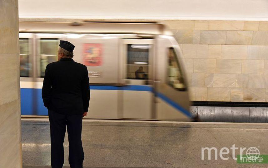 Сбой в движении поездов произошёл на фиолетовой ветке московского метро. Фото Василий Кузьмичёнок