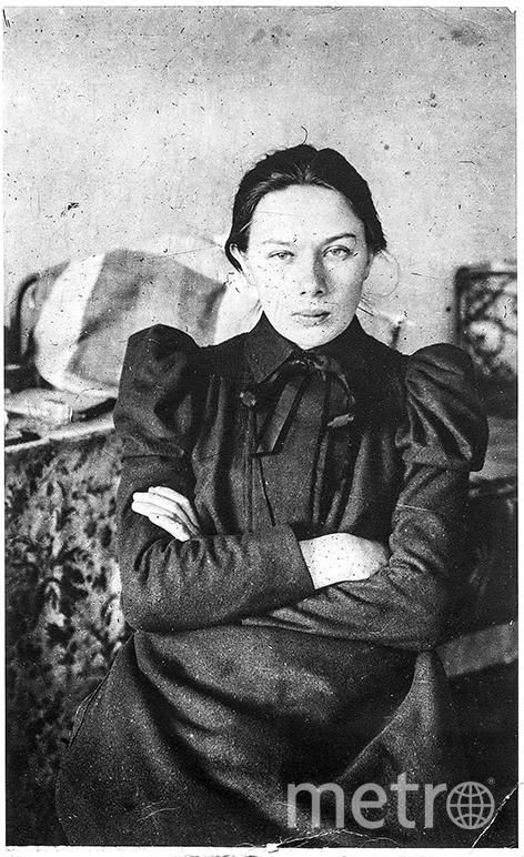 Надежда Константиновна Крупская, 1898 год. Фото предоставлено РГАСПИ
