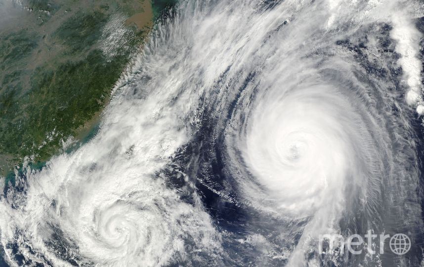 Тайфун был зафиксирован неподалеку от островов Федеративных штатов Микронезии. Фото Pixabay