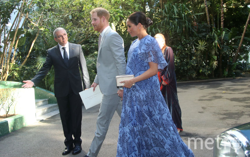 Меган Маркл и принц Гарри в Морокко. Фото Getty