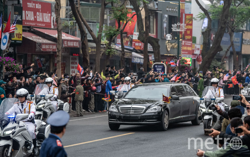 Ким Чен Ын прибыл во Вьетнам. Фото Getty