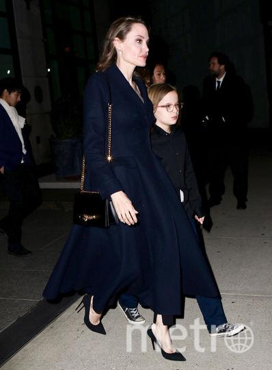 Анджелина Джоли с детьми посетила спецпоказ. Фото Getty