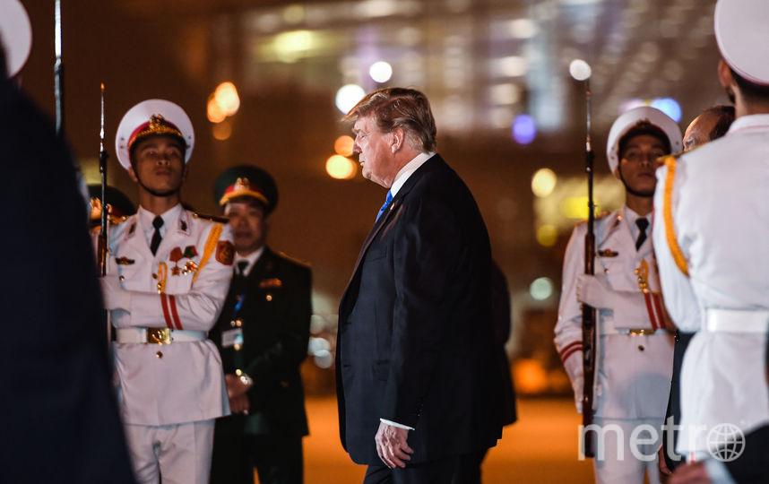 Дональд Трамп прибыл в Ханой. Фото AFP