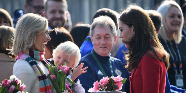 Герцог и герцогиня Кембриджские прибыли с неожиданным визитом в Северную Ирландию.