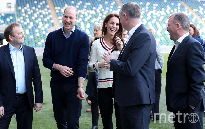 Герцог и герцогиня Кембриджские прибыли с неожиданным визитом в Северную Ирландию. Фото Getty