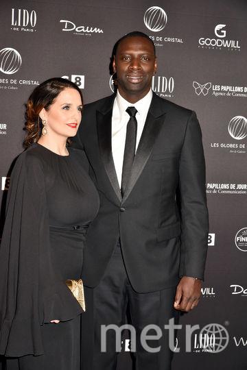 Омар Си с женой Элен. Фото Getty