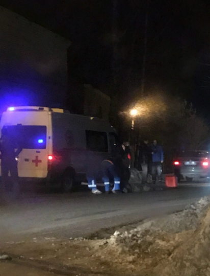 Под Петербургом сбили пешехода. Фото https://vk.com/spb_today