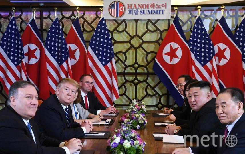 Второй день саммита США-КНДР в Ханое. Фото AFP