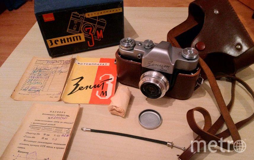 """Лоты аукциона. Фотографы говорят: плёнку для «Зенита» найти довольно легко, а снимки получаются невероятно «живыми». Фото предоставлены музеем советских игровых автоматов, """"Metro"""""""