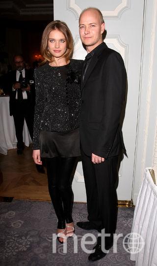 Наталья Водянова с мужем Джастином Портманом. Фото архив, Getty