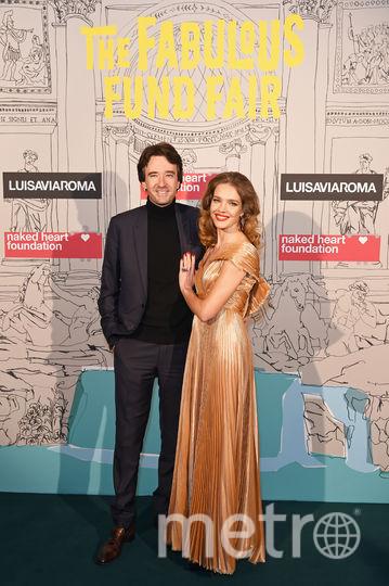 Наталья Водянова с мужем Антуаном Арно. Фото архив, Getty