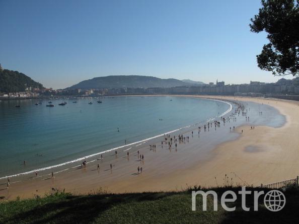 Пляж Ла-Конча, Испания. Фото Getty