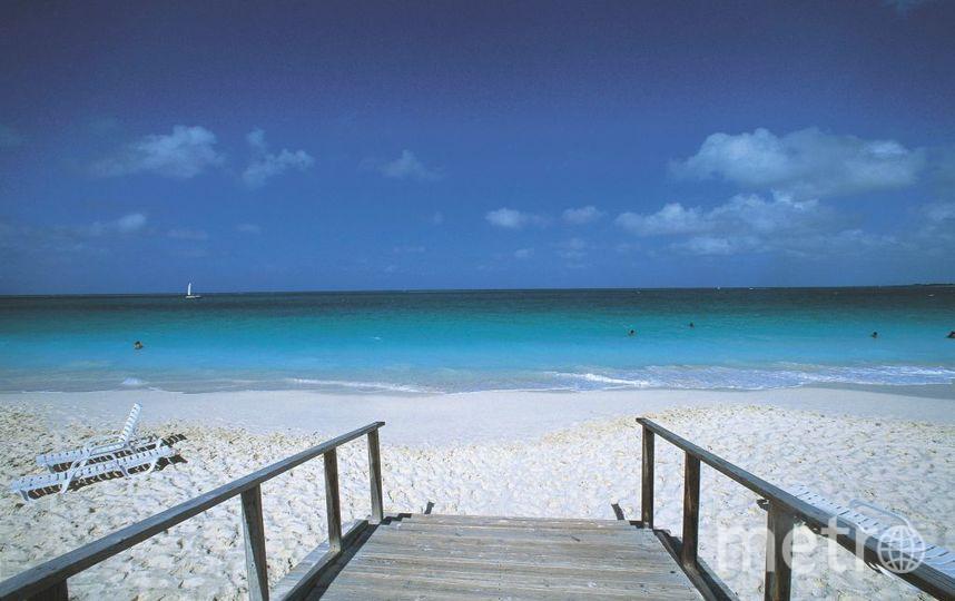 Пляж Грейс Бэй, о. Провиденсьялес. Фото Getty