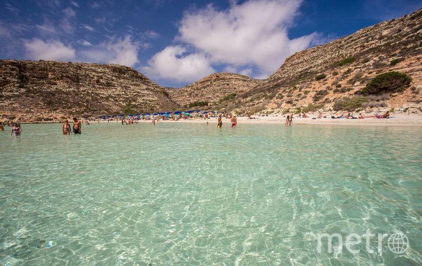 Пляж кроликов Spiaggia dei Conigli, Сицилия. Фото Getty