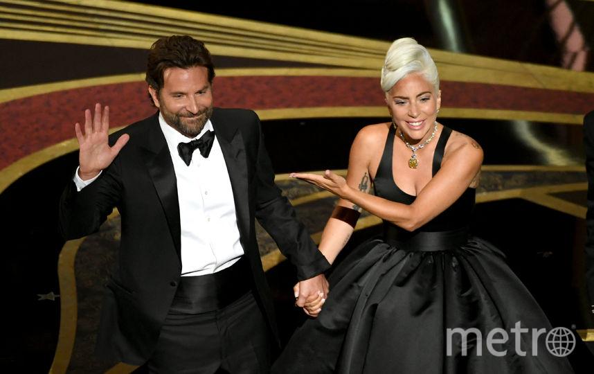 "Леди Гага и Брэдли Купер на церемонии награждения премии ""Оскар"". Фото Getty"