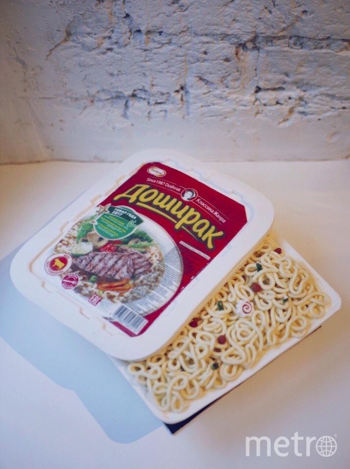 """Это не """"Доширак"""", это торт! Очень реалистично. Фото Предоставлено героем материала"""
