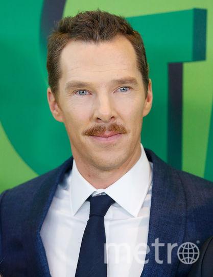 Бенедикт Камбербэтч осенью носил усы. Фото Getty