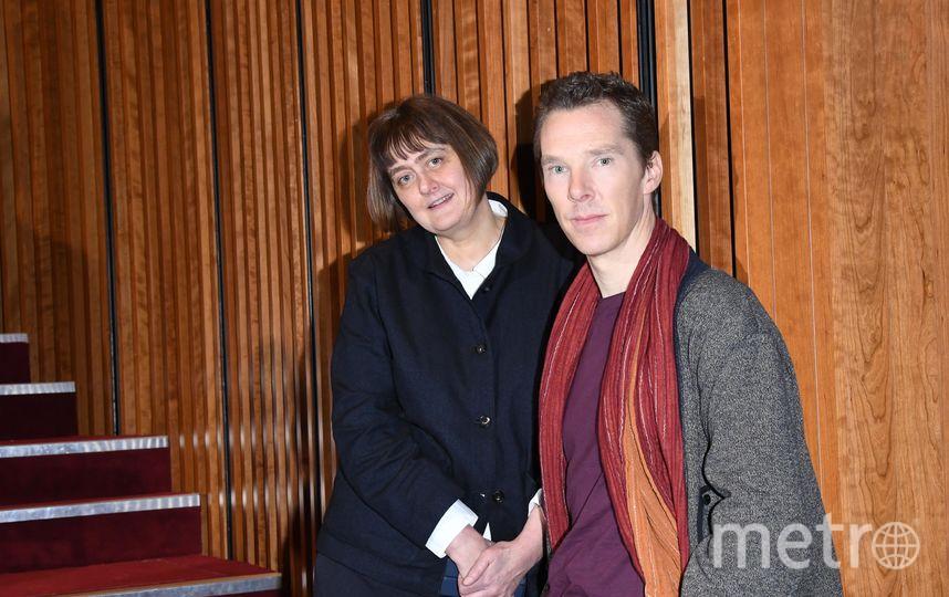 Бенедикт Камбербэтч на встрече в театре 28 февраля. Фото Getty