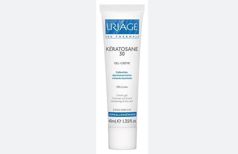 Uriage Keratosane30 Гель-крем для мозолистых образований.