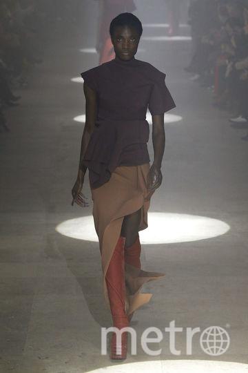 Показ Rick Owens на Неделе моды в Париже. Фото Getty
