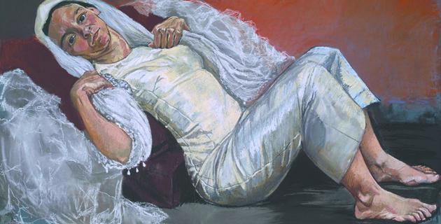 """Выставка """"Фрэнсис Бэкон, Люсьен Фрейд и Лондонская школа""""."""