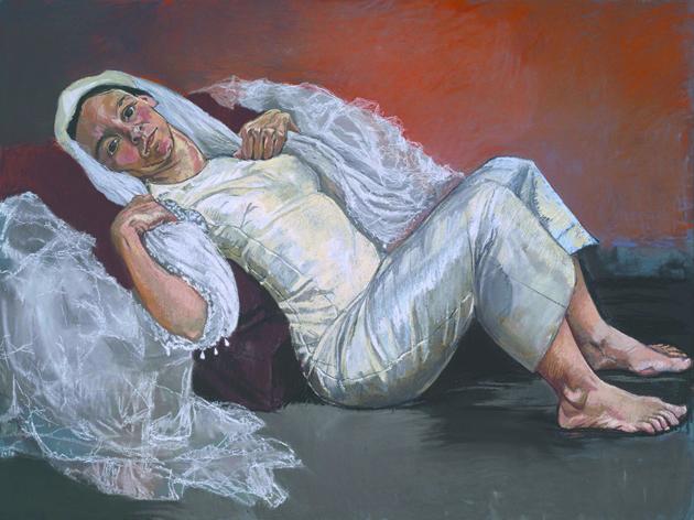 """Выставка """"Фрэнсис Бэкон, Люсьен Фрейд и Лондонская школа"""". Фото Паула Регу """"Невеста"""" © Tate, London 2019"""