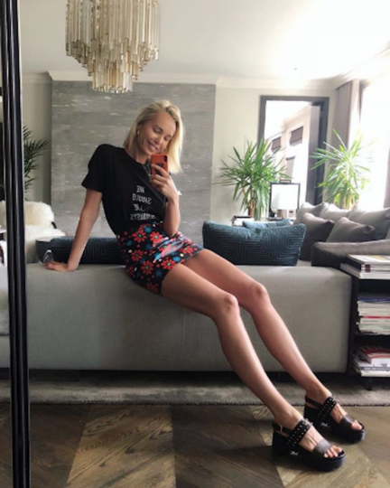 Илона Столье. Фото www.instagram.com/ilonastolie