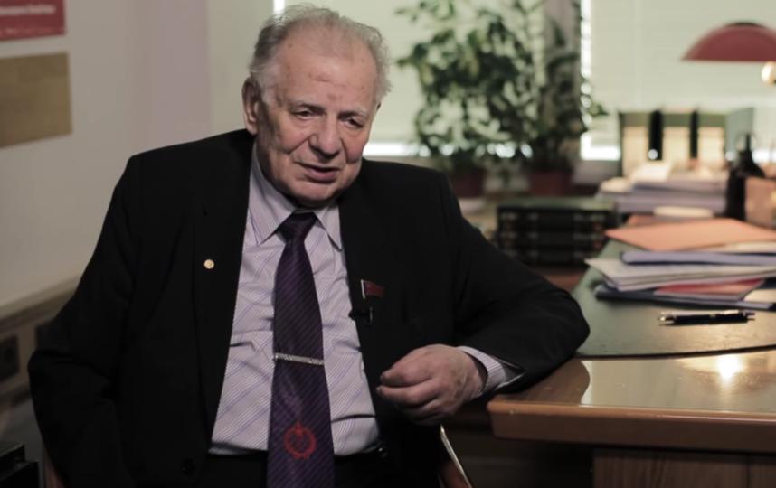 Жорес Алферов, кадр из передачи. Фото Все - скриншот YouTube