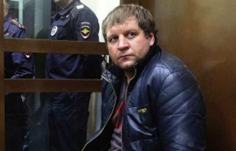 Александр Емельяненко арестован на 10 суток. Фото РИА Новости