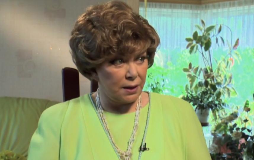 Эдита Пьеха, кадры из передачи. Фото скриншот YouTube