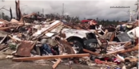Видео последствий жуткого торнадо в Алабаме появилось в Сети: погибли более 20 человек