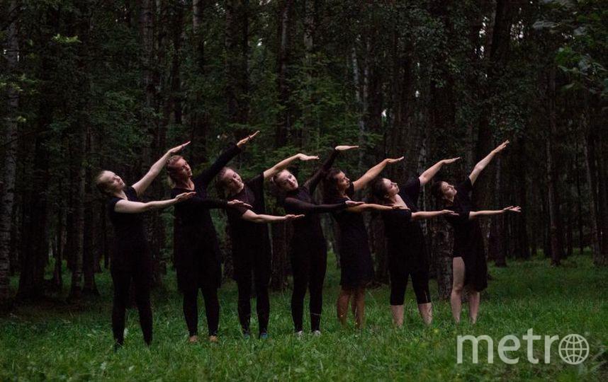 """Екатерина Старцева. Танцы в городском парке. Съёмка клипа. Фото """"Metro"""""""