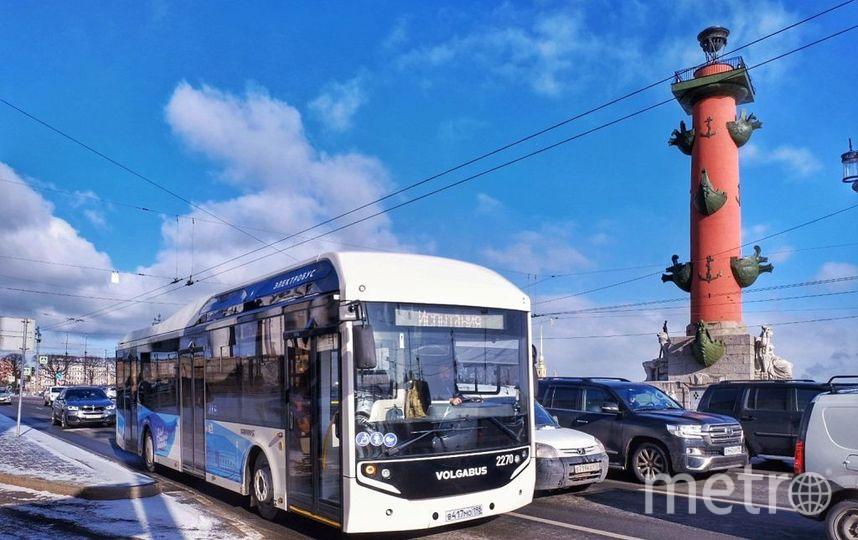 """Электробус. Фото """"Metro"""""""