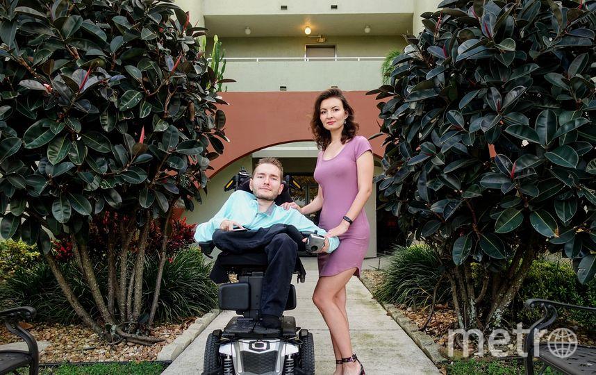Валерий Спиридонов с супругой Анастасией. Фото предоставлено героем публикации