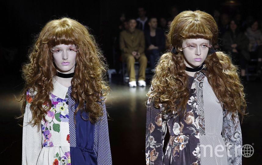 Японский модельер Джунья Ватанабе превратил моделей в кукол. Жутковато, если честно. Фото AFP