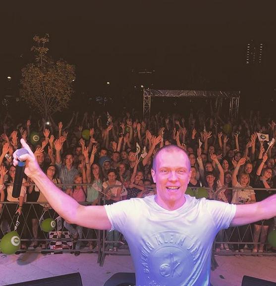 Российский музыкант и диджей Евгений Рудин (DJ Грув). Фото Скриншот instagram.com/djgrooverussia/