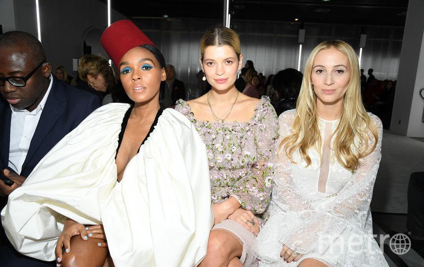 На Неделе моды в Париже. Фото Getty