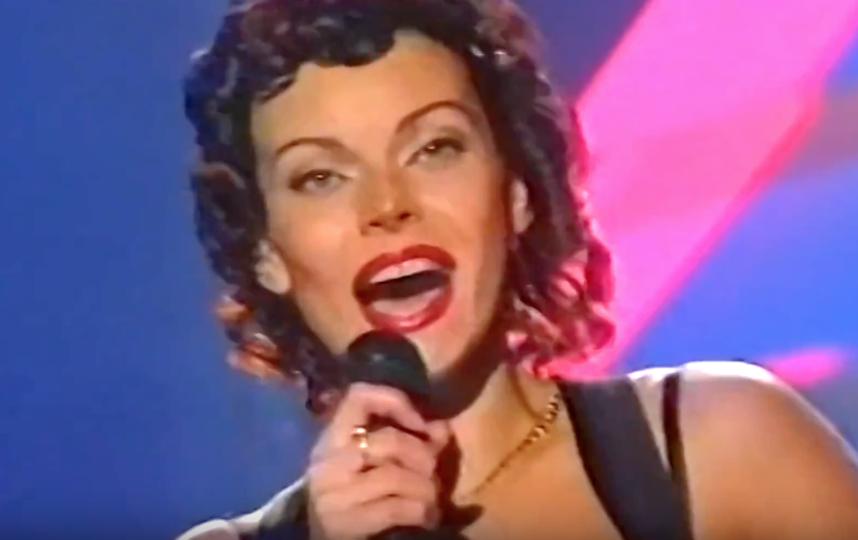 Так Лада Дэнс выглядела на пике карьеры в 1990-х. Фото Скриншот Youtube