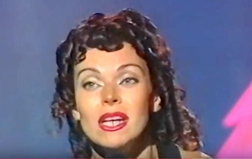 Так Лада Дэнс выглядела на пике карьеры в 1990-х.