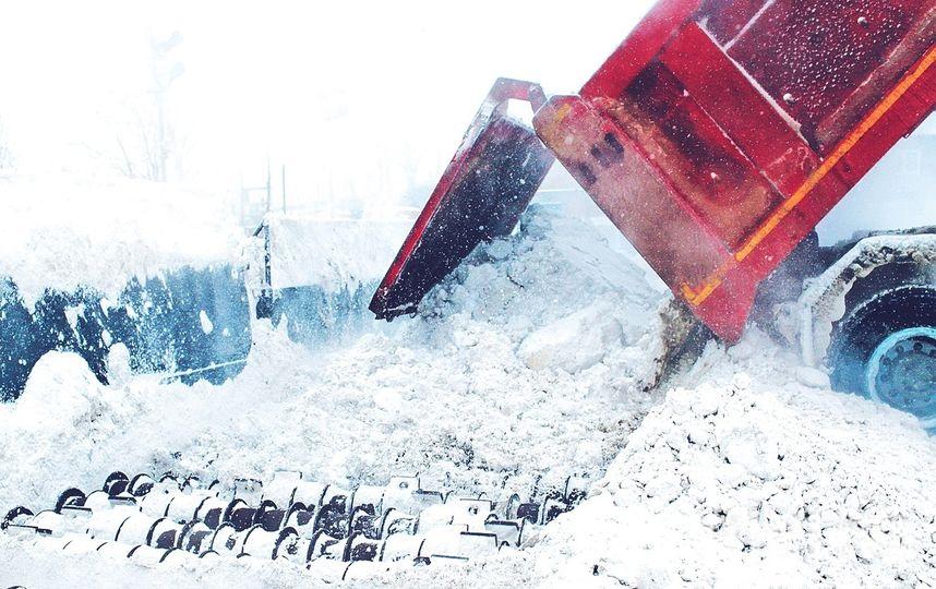 """Снегоплавильные пункты. Фото ГУП """"Водоканал Санкт-Петербурга"""", vk.com"""