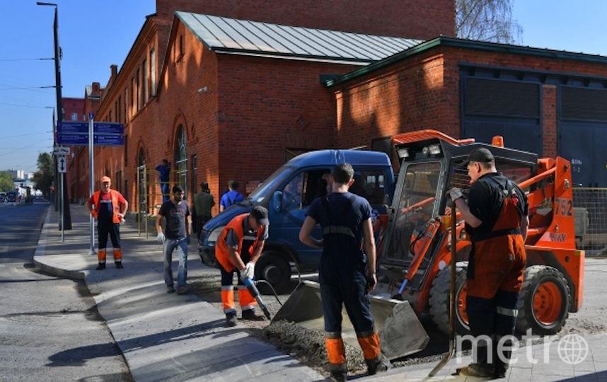 В 2019-м планируют благоустроить 50 улиц, площадей и других территорий во всех округах города. Фото РИА Новости