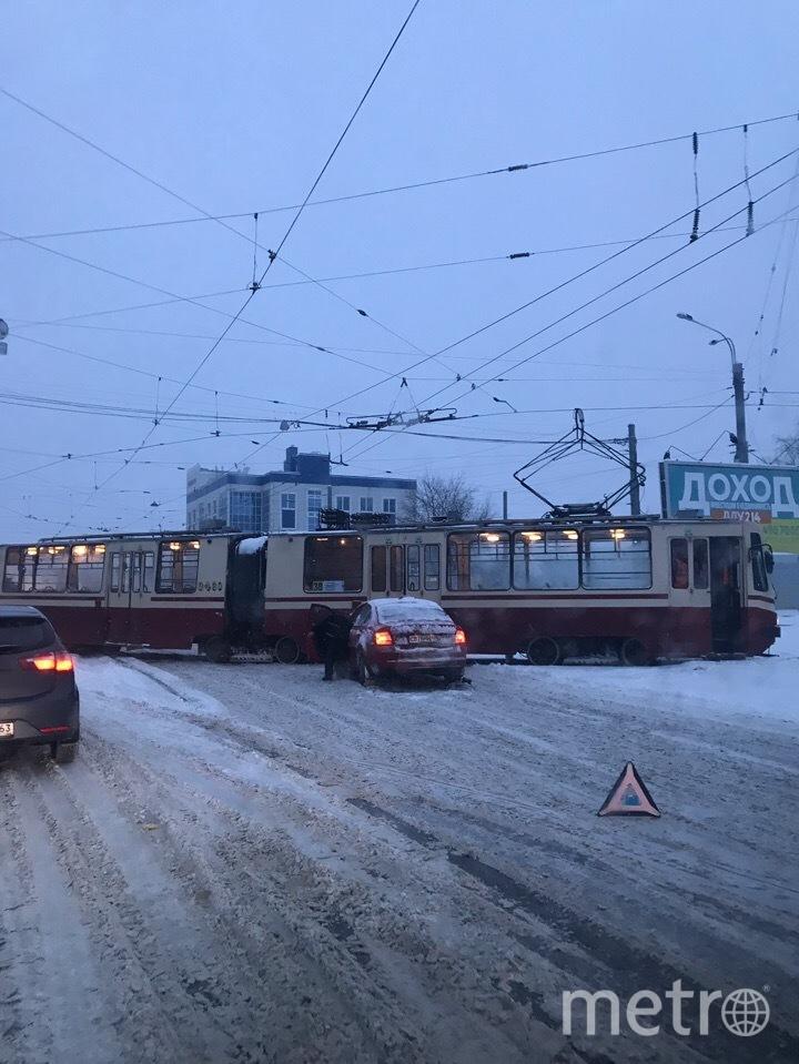 ДТП на Политехнической. Фото vk.com