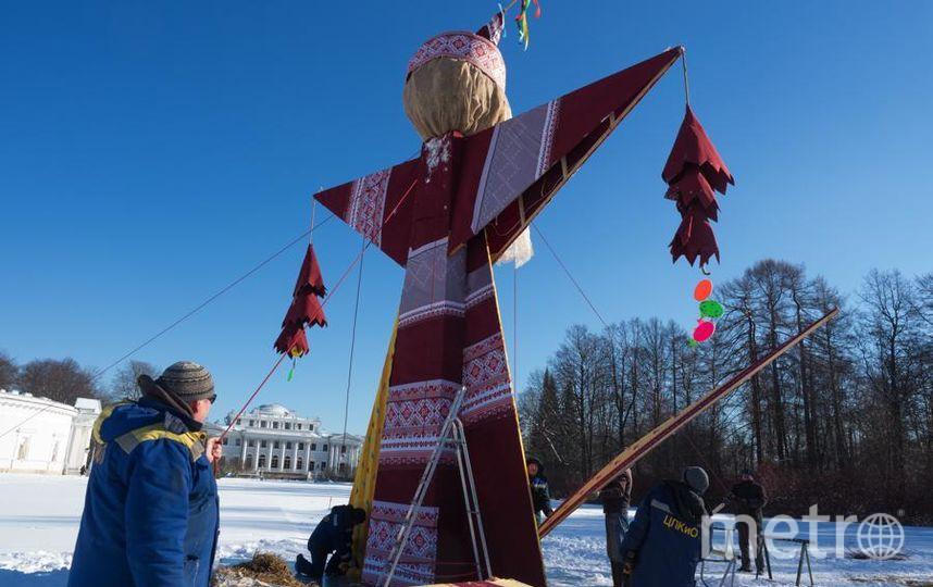 """Масленицу удалось поднять быстрее, чем в прошлом году. Фото Святослав Акимов, """"Metro"""""""
