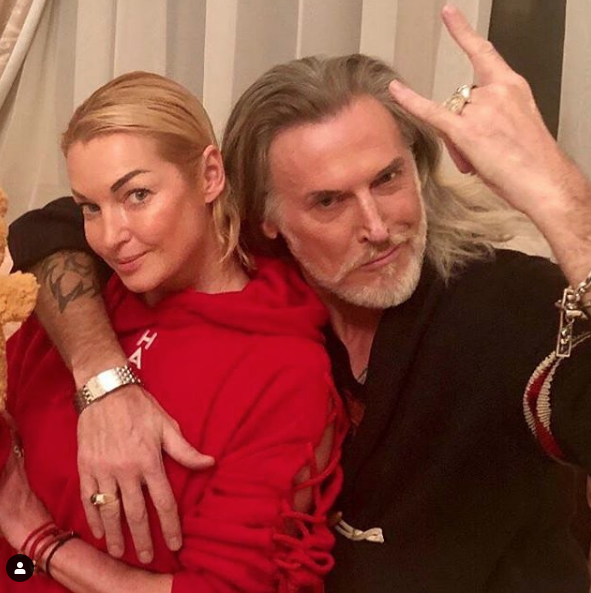 Анастасия Волочкова и Никита Джигурда. Фото скриншот https://www.instagram.com/volochkova_art/?hl=ru
