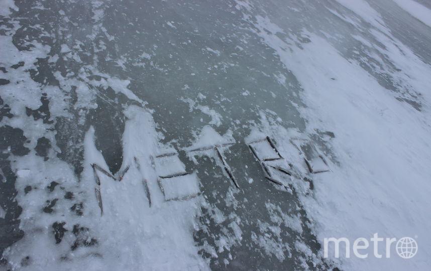 """Metro на льду. Фото Дарья Есенина., """"Metro"""""""