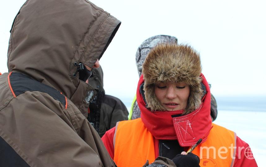 """Женщины могут дать фору мужчинам в ловле рыбы. Фото Дарья Есенина., """"Metro"""""""