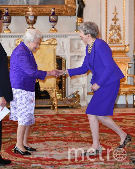 Елизавета II и Тереза Мэй. Фото Getty