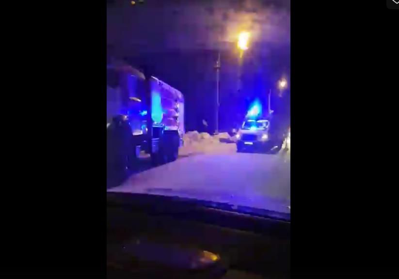 ДТП на Зеленогорском шоссе. Фото https://vk.com/spb_today